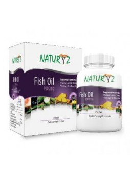 Naturyz Fish Oil 1000mg 60 Softgels