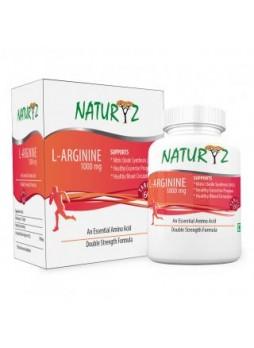 Naturyz L-Arginine-1000mg, 60 Tablets