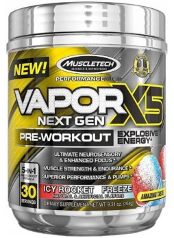 Muscletech Vapor X5-264g (Icy Rocket Freeze)