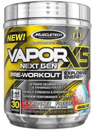 Muscletech Vapor X5-264g (Icy Rocket Freeze)