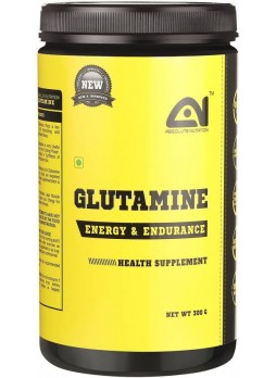 absolute nutrition glutamine 300 gm