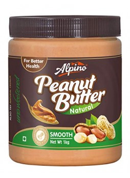 Alpino Natural Peanut Butter Smooth 1Kg