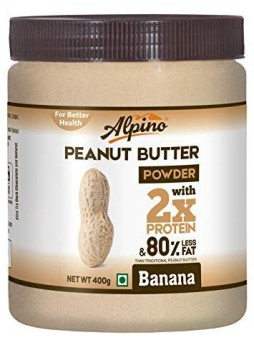 Alpino Banana Peanut Butter Powder 400g