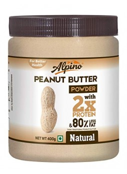 Alpino Natural Peanut Butter Powder 400g