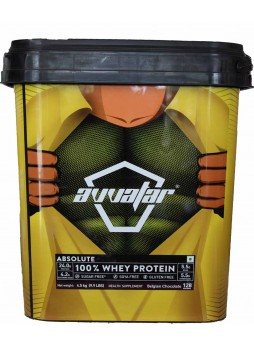 Avvatar Absolute 100 Percentage Whey Protein 128 SERVING