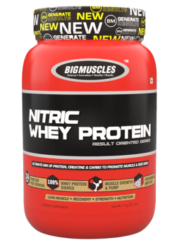 Big Muscle 100% Nitric Whey Protein 1 kg