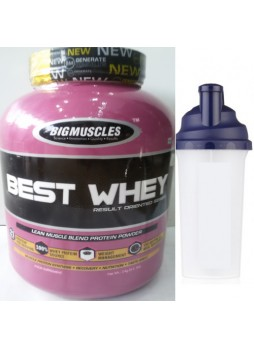 Big Muscle Best Whey, 4.4 lb Chocolate