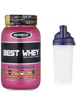 Big Muscle Best Whey, 2.2 lb Chocolate