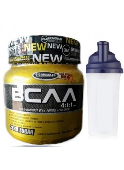 Big Muscle BCAA 300gm chocolate