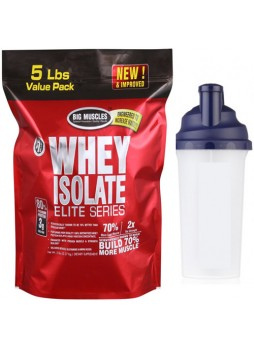 Big Muscle WHEY ISOLATE ELITE 5LB chocolate