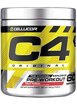 cellucor c4 original pre workout 60 serving fruit punch