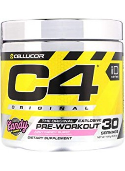 Cellucor, C4 Original Explosive, Pre-Workout, Juicy Candy Burst, 30SERVING WITH SHAKKER