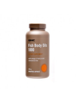 GNC Fish Body Oils (1000 mg) 90 cap