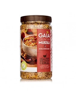 GAIA CRUNCHY MUESLI STRAWBERRY - 1 KG