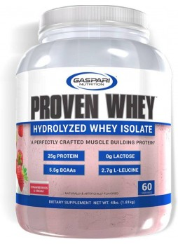 Gaspari Nutrition Proven Whey (Chocolate Ice Cream) Whey Protein  (1.81 kg, Strawberry)