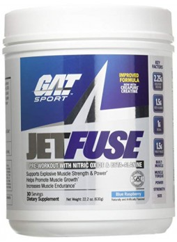 GAT JETFUSE BLUE RASPBERRY  630 GRAMS PWD