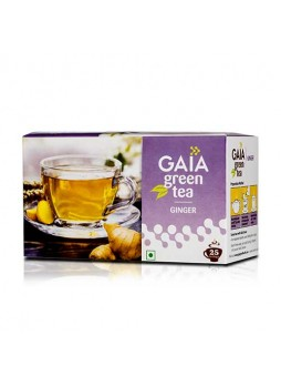 Gaia Green Tea Ginger 25 Teabags
