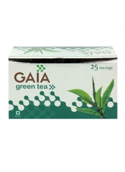 Gaia Green Tea 25 Tea Bags