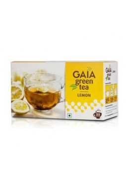 Gaia Green Tea Lemon 25 Teabags