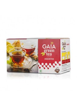 Gaia Green Tea Assorted 25 Teabags