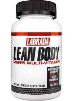 Labrada Lean Body Men's Multi-Vitammin 60 Veg Capsules