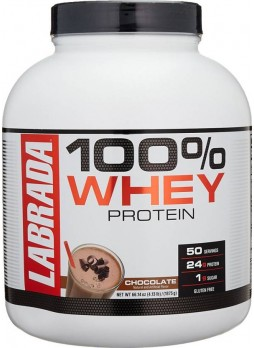 Labrada 100% Whey Protein 4.13 Lbs (1875 gm) Chocolate