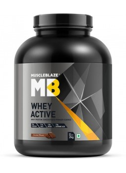 MuscleBlaze Whey Active, 4.4 lb