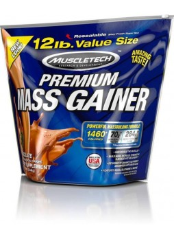 Muscletech Premium Mass Gainer -12.0 lbs (5.44 kg) Chocolate