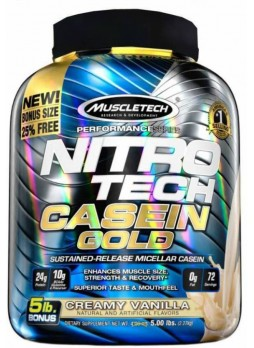 Muscletech Performance Series Nitrotech Gold Casein Protein 5 lbs (2.27 kg)