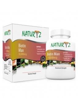 Naturyz Biotin 10000 mcg 60 Capsules