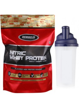 Big Muscle 100% Nitric Whey Protein 10 lbs