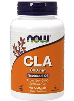 NOW CLA 800 Mg 90 Softgels