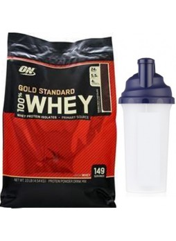 ON Gold Standard 100% Whey Protein 10 LBS