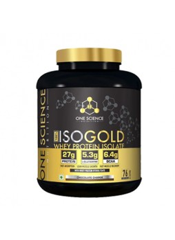 One Science ISOGOLD Whey Protein Isolate 2.27 kg