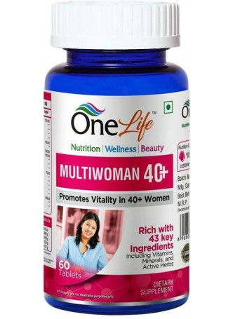 OneLife Multiwoman 40+ (60 Tablets)