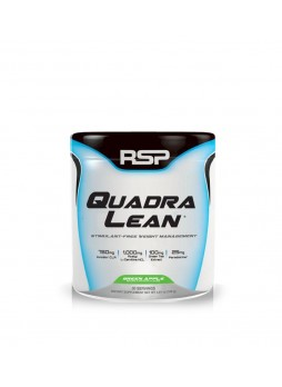 RSP Nutrition QuadraLean Powder, Stimulant Free Weight Management - 30 Servings (Peach Mango)