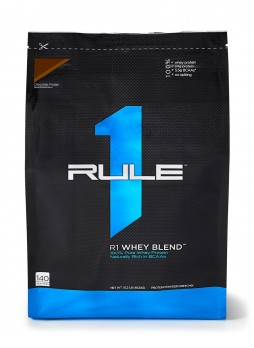 R1 Whey Blend 100% Whey Protein 10 lb - 140 Servings chocolate fudge