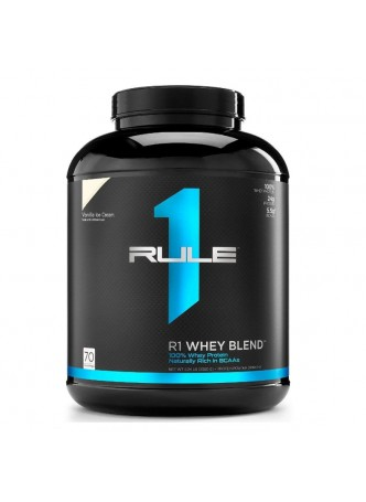 R1 Whey Blend, Rule 1 Proteins (Vanilla Ice Cream, 70 Servings)