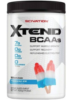 Scivation Xtend BCAA Freedom Ice 30 servings BCAA  (420 g, Freedom Ice)
