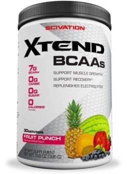 Scivation Xtend BCAAs 30 Servings BCAA  (396 g, Fruit Punch)