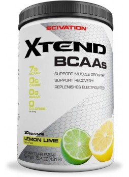 Scivation Xtend BCAA  (431 g, Lemon Lime)