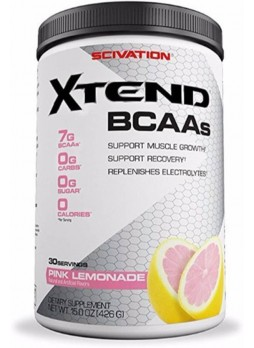 SCIVATION xtend bcaa 30 serving 426GM PINK LEMONADE