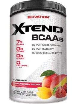 Scivation Xtend BCAA (390 g, Strawberry, Mango)