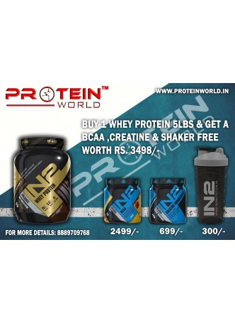 IN2 Nutrition Whey Protein ( 5.08 Lbs)