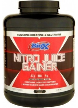 BIO-X Nitro juice Gainer Chocolate 4 kg