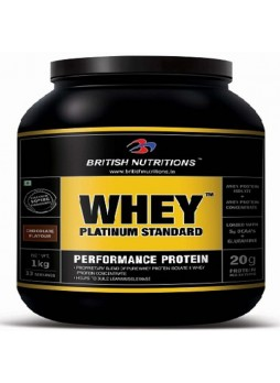 British Nutritions Whey Platinum Standard 2 kg