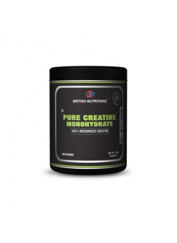 British Nutritions Pure Creatine Monohydrate 300gm