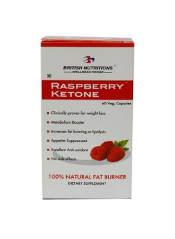 British Nutritions Raspberry Ketone 60 Caps