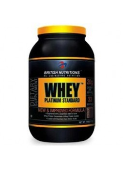 British Nutritions Whey Platinum Standard 1 kg