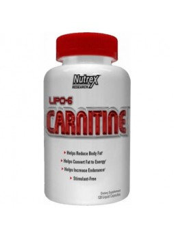 Nutrex Lipo 6 Carnitine 60 Capsules
